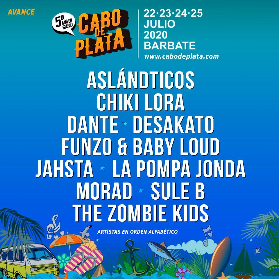 Mucho arte para el cuarto avance del Festival Cabo de Plata